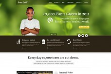 Green Earth Environmental WordPress Theme from ThemeForest