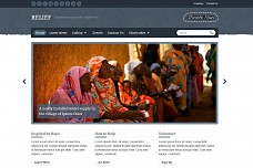 Relief Charity WordPress Theme from ThemeForest