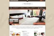 Nice Hotel WordPress Theme from ThemeForest