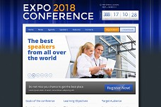 Expo18 Event Conference WordPress Theme from ThemeForest