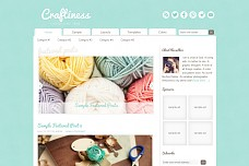 Craftiness Genesis WordPress Theme from StudioPress