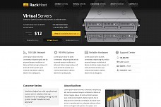 Rackhost Hosting WordPress Theme from ThemeForest