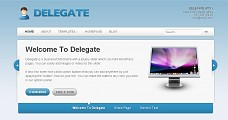Delegate WordPress Theme from ThemeForest