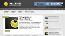 Headlines WordPress Theme from WPZOOM