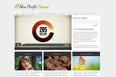 NonProfit WordPress Theme from ThemeForest