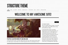 Structure WordPress Theme from MOJO Themes